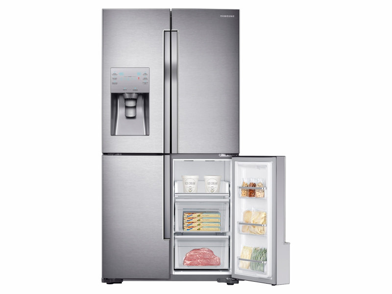 Samsung 23 Cu. Ft. Counter Depth 4 Door Flex Refrigerator With Flexzone