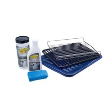 Smart Choice Ultra Stainless Steel Range Broiler Kit