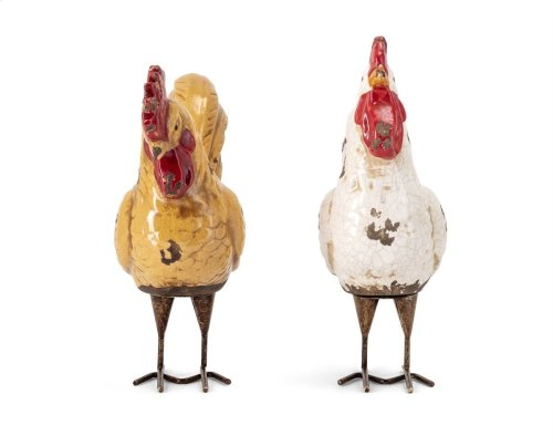 Parson Roosters - Set of 2