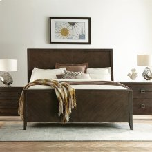 Joelle - California King Sleigh Bed Rails - Carbon Gray Finish
