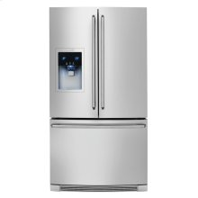 (Discontiued Floor Model 1 Only) Counter-Depth French Door Refrigerator with Wave-Touch® Controls