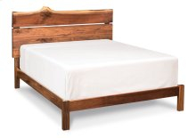 Live Edge Headboard with Wood Frame, Live Edge Headboard with Wood Frame, King