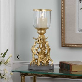Golden Gymnasts, Candleholder