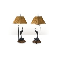 Meiji Cranes Table Lamp