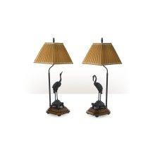 Meiji Cranes Table Lamp