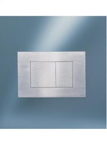 Dual cistern push plate for Geberit (Series 300/320/720) - Grey