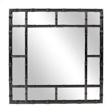 Bamboo Mirror - Glossy Black