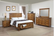QUEEN 4PC SET (Q.BED,NS,DR,MR)