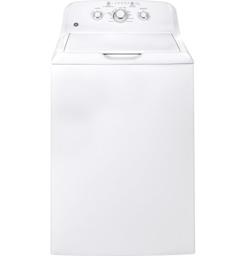 GE® 3.8 DOE cu. ft. Capacity Washer with Stainless Steel Basket