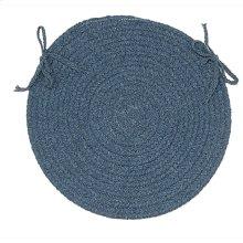"Bristol Chair Pad WL01 Federal Blue 15"" X 15"" (Set 4)"