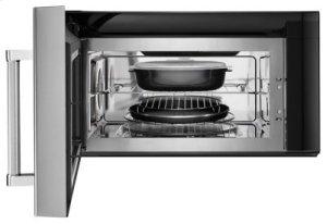 1000-Watt Convection Microwave Hood Combination - Black