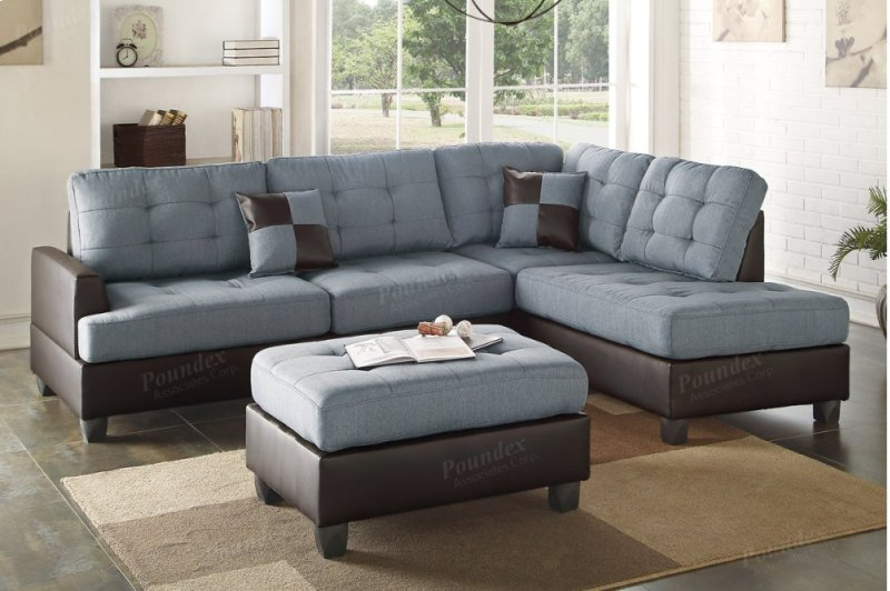 F6858 in by Poundex in Phoenix, AZ - 3-pcs Sectional Sofa Including ...