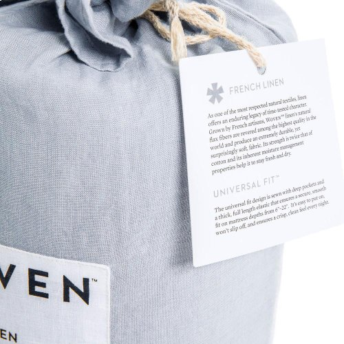 French Linen - Queen Smoke