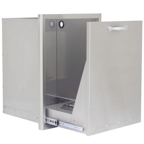 Blaze 18 Inch Roll Out Trash/Propane Tank Storage Drawer