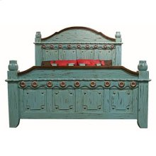 """Queen : 69"""" x 69"""" x 95"""" Turquoise Washed Collection"""