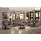 Double Glider Reclining Love Seat with Center Console, Receptacles and USB Ports Product Image