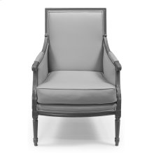 Louis Xvi Bergere Chair Frame, Leather