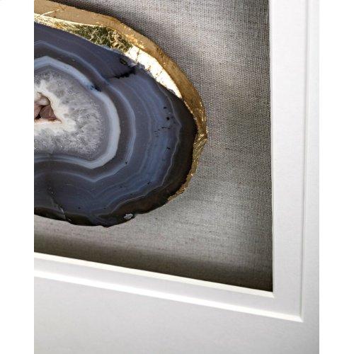 Agate Wall Decor - Ast 2