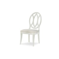 Everyday Dining by Rachael Ray Oval Back Side Chair - Sea Salt Product Image
