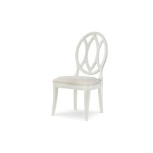 Everyday Dining by Rachael Ray Oval Back Side Chair - Sea Salt