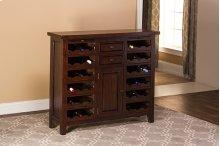 Tuscan Retreat® Wine Console - Rustic Mahogany