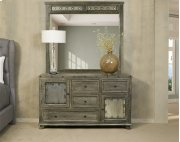 Bolt Dresser and Mirror- Light Graywash Product Image