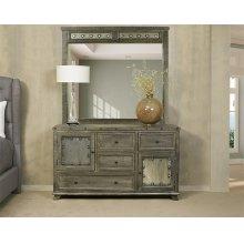 Bolt Dresser and Mirror- Light Graywash