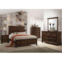 1021 Remington Queen Bed with Dresser & Mirror
