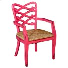 Lewis Arm Chair rush Seat Product Image