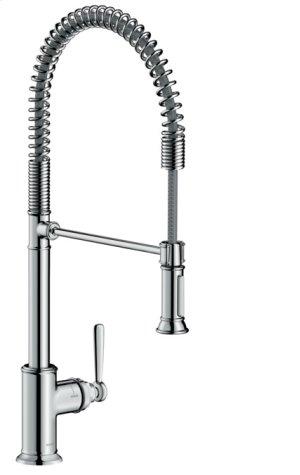 Chrome AXOR Montreux 2-Spray Semi-Pro Kitchen Faucet, 1.75 GPM Product Image