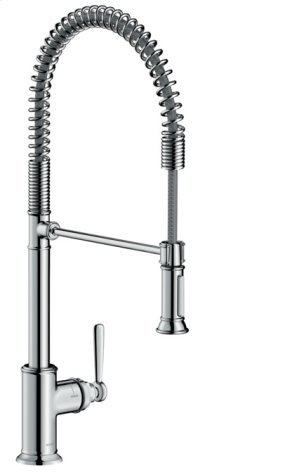 Chrome AXOR Montreux 2-Spray Semi-Pro Kitchen Faucet, 1.75 GPM Product Image
