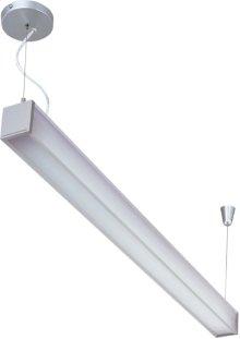 Fluorescent Ceiling Lamp, White, Fluor. T5/6400k Tube 28wx2