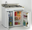 """Model CK36-2 - 36"""" Complete Compact Kitchen with Refrigerator Product Image"""
