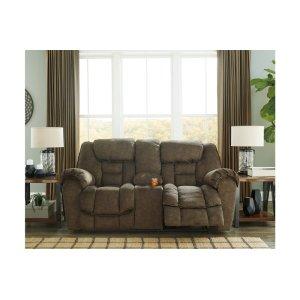 Ashley FurnitureSIGNATURE DESIGN BY ASHLEDBL Rec Loveseat w/Console