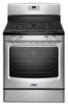 Maytag® 30-inch Wide Gas Range with Convection and Third Rack - 5.8 cu. ft. - Stainless Steel