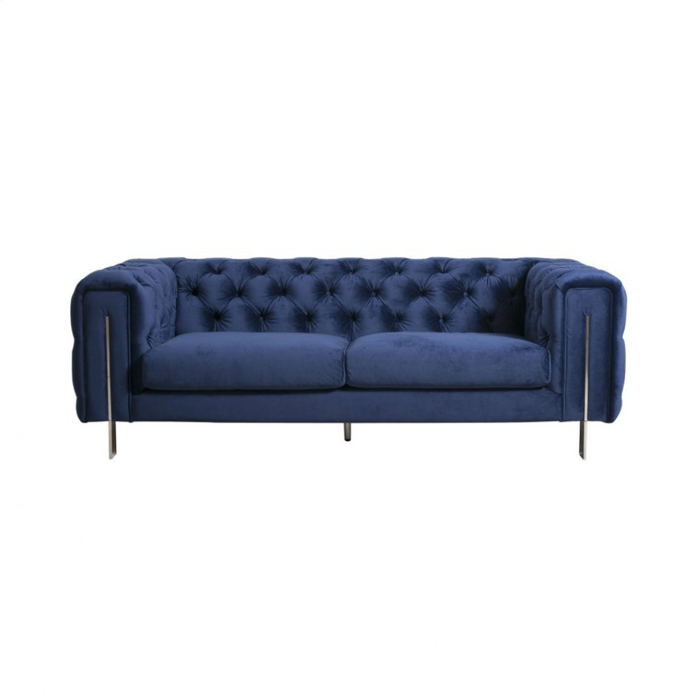 Courtney 2 Seat Sofa Royal Blue