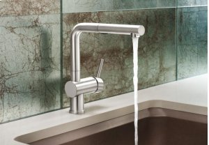 Blanco Linus Pullout W/ Dual Spray 1.8 Gpm - Satin Nickel