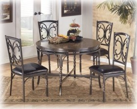Brindleton Round Dining Room Table Set 4/CN
