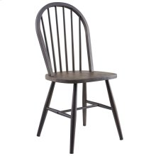 Hillside Side Chair in Gunmetal, 2pk