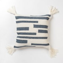 Kaylee Pillow - Navy and Ivory