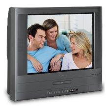 "24"" Diagonal Flat TV/DVD Combination"
