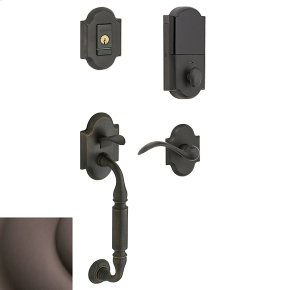 Venetian Bronze Evolved Canterbury Lever Sectional Handleset
