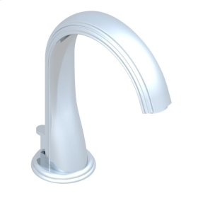 Widespread Lavatory Spout With Pop Up and Flexible Connections