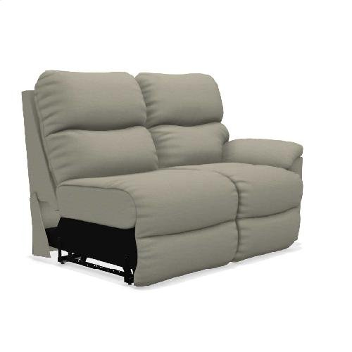 Trouper Power Left-Arm Sitting Reclining Loveseat w/ Headrest