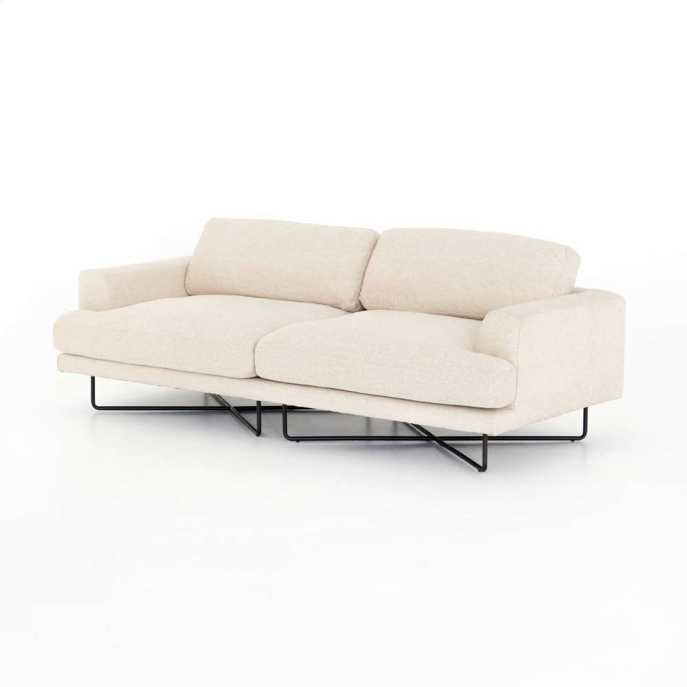 Osaka Blanco Cover Miller Sofa-80""
