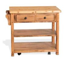 Sedona Butcher Block Cart