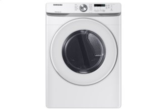 7.5 cu.ft. Electric Dryer with Shallow Depth in White