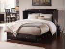 Nantucket Queen Murphy Bed Chest in Espresso Product Image