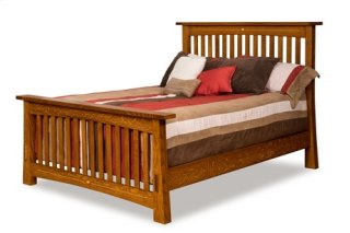 Castlebrook Slat Bed