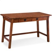 Mission Oak Wedge Corbel Laptop/Writing Desk with Center Drawer #82403 Product Image